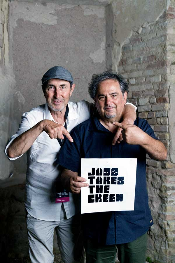 Adriano Pedini e Enzo Favata   Al festival jazz Fano Jazz by the Sea